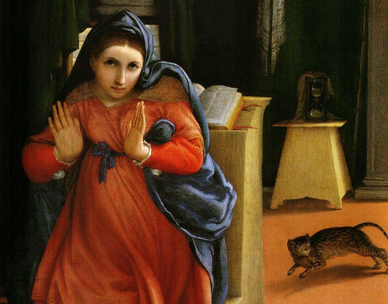 Annunciazione – Lorenzo Lotto