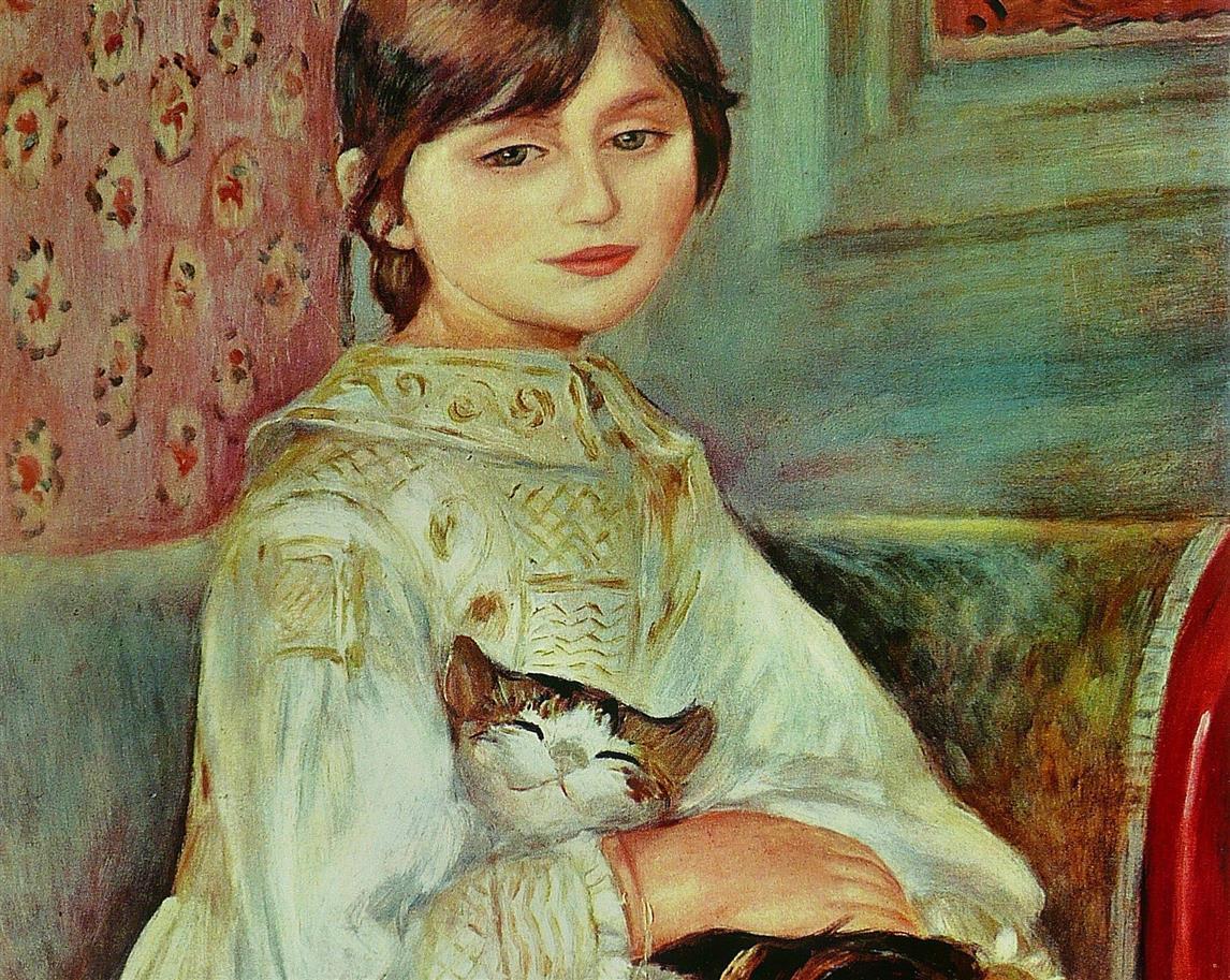 Bambina con gatto (Julie Manet)
