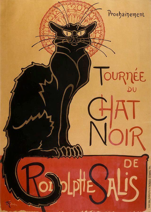 Chat noire – Théophile-Alexandre Steinlen