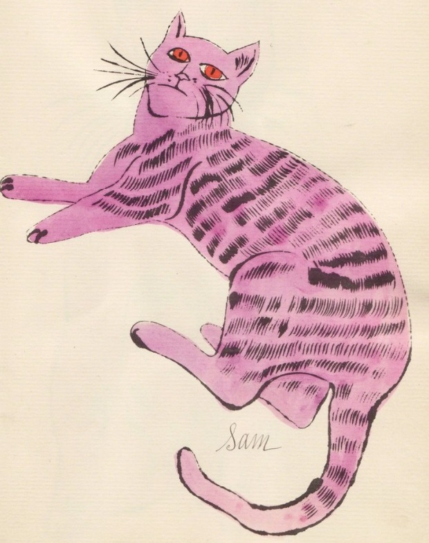il gatto sam - andy warhol