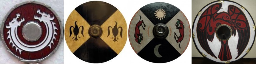 Celtic shields