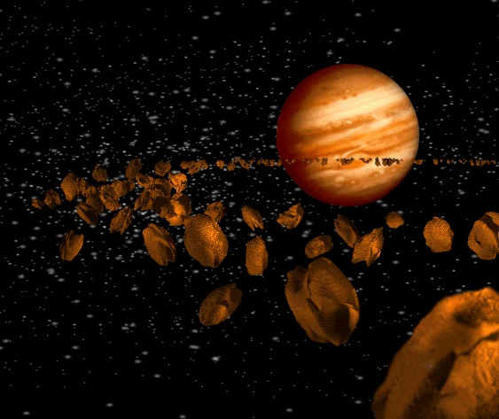 fascia degli asteroidi