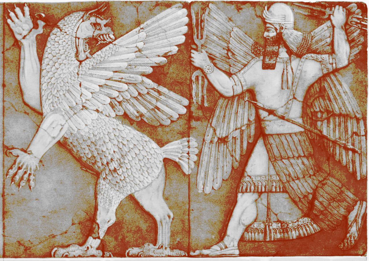 marduk e tiamat ENUMA ELISH IL MITO BABILONESE DELLA CREAZIONE