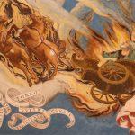 Elia e la macchina volante con cavalli di fuoco